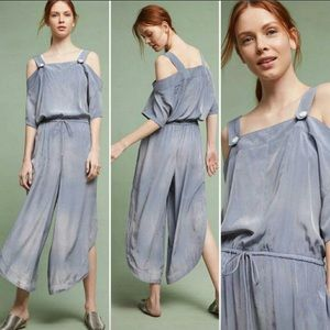 NWT Anthropologie Saturday Sunday Jumpsuit M